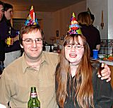 Eric and Heidi at Shirley's party (Click for more)